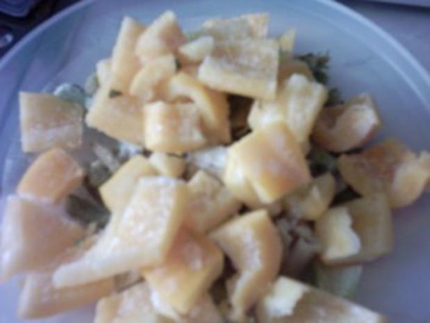 Gemüsepfanne mit Schlagsahne - Rezept - Bild Nr. 3