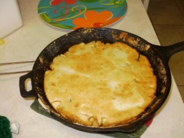 Pfannkuchen - Apfel und Cranberries - ein grosser Pfannkuchen-gebacken im Ofen - 163 Kal. fettarm Mit Bildern - Rezept - Bild Nr. 5