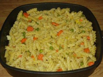 Rezept: Gemüse-Nudelpfanne