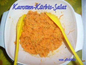 Salat: Karotten-Kürbis-Salat - Rezept