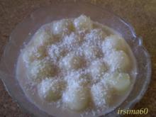 Honigmelone in Kokosmilch - Rezept