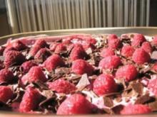 Himbeer-Tiramisu mit Schokolade - Rezept