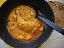 Kardamom-Hähnchen - Rezept