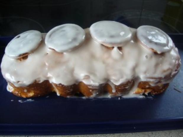 Kuchen: Jaffa-Cake-Zitronenkuchen mit Mandarinen - Rezept - Bild Nr. 8