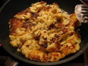 Kartoffelschmarrn  (zum Herzragout mit Steinpilzen  ;-) im KB) - Rezept