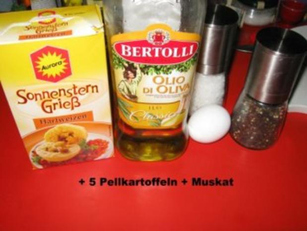 Kartoffelschmarrn  (zum Herzragout mit Steinpilzen  ;-) im KB) - Rezept - Bild Nr. 3