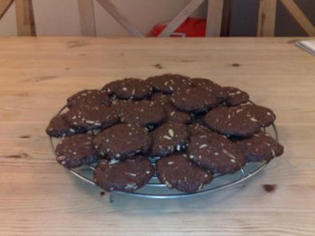 Kekse/Cookies: Chocolate Cookies mit welchen auch immer Nüssen - Rezept