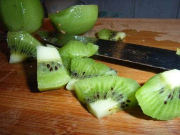 Mango-Konfitüre mit Kiwi und Limette - Rezept - Bild Nr. 4