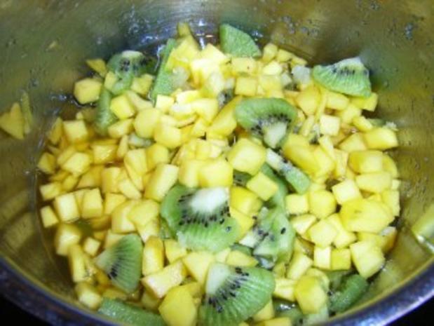Mango-Konfitüre mit Kiwi und Limette - Rezept - Bild Nr. 7