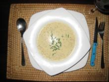 Cremige Senfsuppe - Rezept