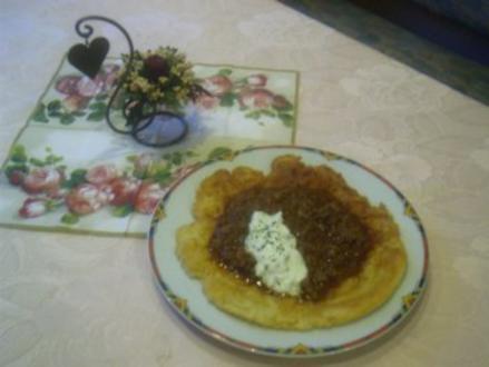 Pfannenkuchen mit Hasche - Rezept