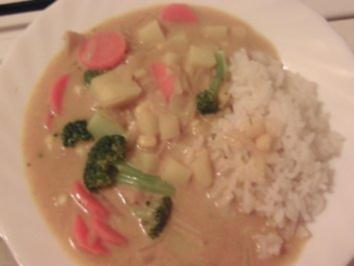 Buntes Curry-Gemüse - Rezept
