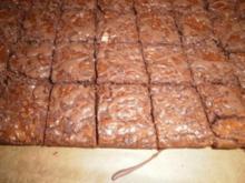 Brownie trifft Toblerone - Rezept