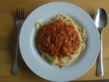 Thunfisch - Speck Soße - Rezept