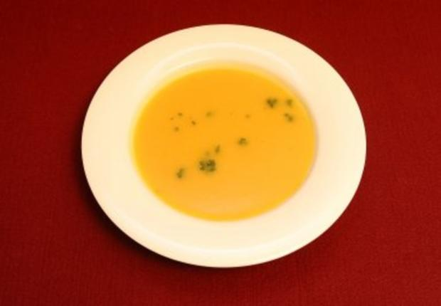 Butternut squash soup with apples (Peggy March) - Rezept
