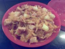 Schneller Sauerkrautsalat - Rezept