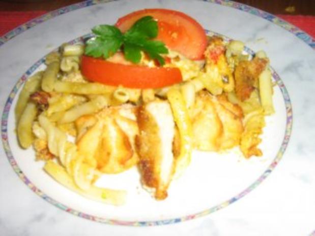 Curry-Geschnetzeltes überbacken mit Parmesan - Rezept - Bild Nr. 5