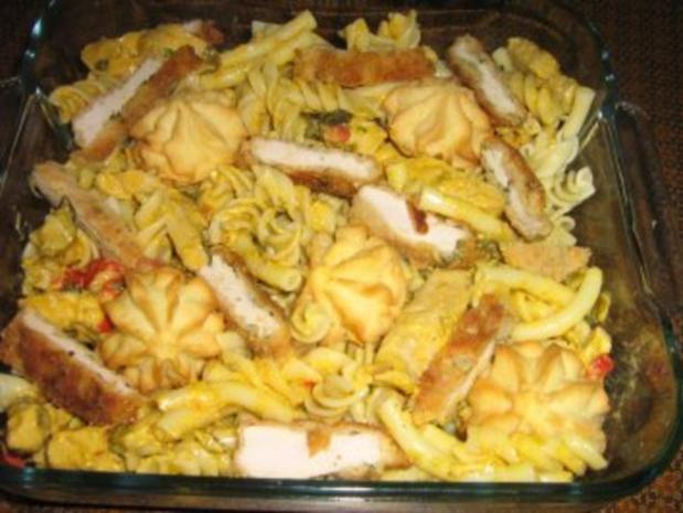 Curry-Geschnetzeltes überbacken mit Parmesan - Rezept - Bild Nr. 2