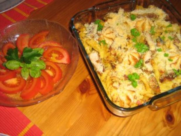 Curry-Geschnetzeltes überbacken mit Parmesan - Rezept - Bild Nr. 4