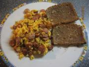 Herzhaftes Rührei fürs Abendbrot - Rezept
