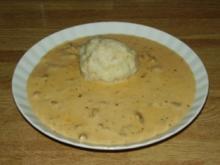 Eierschwammerlgulasch - Rezept