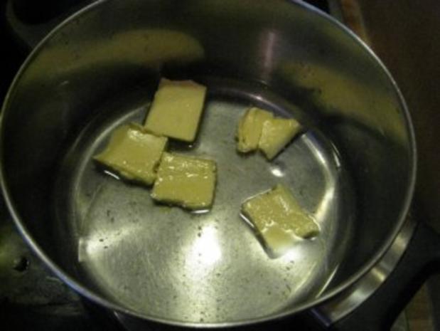 Kleine Windbeutel gefüllt mit Vanilleparfait - Rezept - Bild Nr. 3