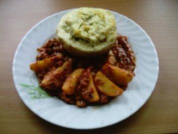 Rezept: Gemüse: Sellerie gefüllt