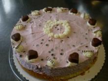 Schoko-Kirsch-Philadelphia-Torte - Rezept