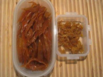 Kandierte Ingwer-Orangenschalen & Orangen-Ingwer + Orangen-Ingwer-Sirup - Rezept