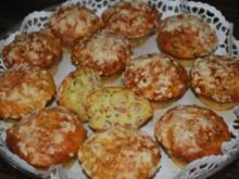 Schinken-Muffins mit Lauchzwiebeln - Rezept