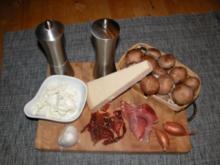 Gefüllte Köpfchen - Rezept
