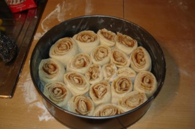 Schneckenkuchen Mit Zimt Rezept Mit Bild Kochbar De