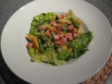 Lauwarmer Schupfnudel-Kopfsalat - Rezept
