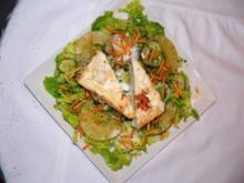 Salada tropical - Rezept