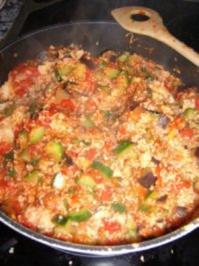 Rezept: Gemüsepfanne mit Couscous