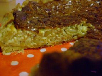 Herzhafter Kräuter-Käse-Kuchen - Rezept