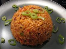 Reisfleisch aus dem Wok - Rezept