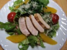 Salatteller zum Abend - Rezept