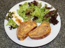 Hackfleisch-Käse-Strudel - Rezept