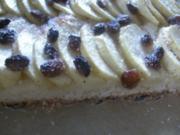 Apfelkuchen  mit Vanille-Zitronen-Geschmack - Rezept