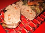 Putenleberterrine  (Pastete) für die Leberfans - im Wasserbad garen !!! - Rezept