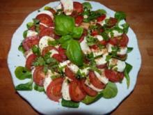 Salat/ Tomate-Mozarella - Rezept