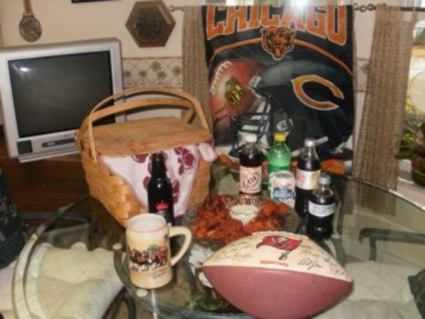 Amerikan Buffalo Wings -Huehnerfluegel gebacken mit Gewuerz -  fuer Super Bowl Football - das ist ein muss - Rezept - Bild Nr. 2