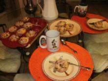 Muffins - Sour Cream-Rosinen Rum - Die sind so lecker warm - Makes 24 Muffins - Rezept