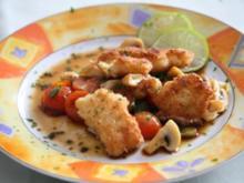 Fischfilet in süßsaurer Balsamico-Soße - Rezept