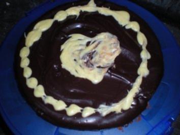 Kuchen: Tarte au chocolat oder der x-te -aber ich krieg nie genug davon- schokokuchen - Rezept