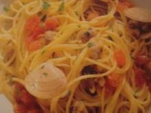 Spaghetti mit Venusmuscheln - Rezept