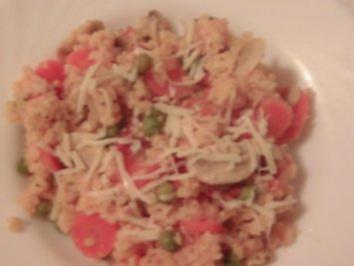 Gemüse-Hirse - Rezept