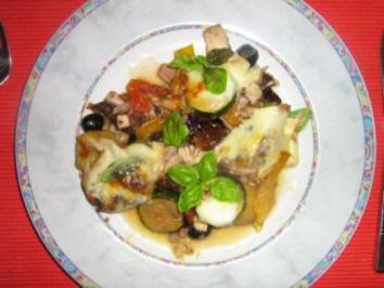 Hähnchen-Gemüse-Gratin - Rezept