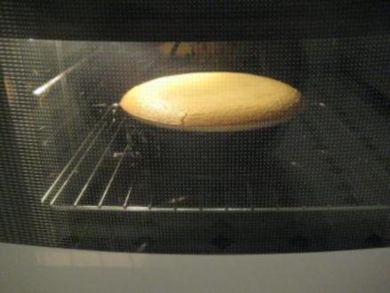 Käsekuchen / Quarkkuchen ohne Boden - Rezept